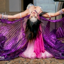 Belly dancer. Toronto