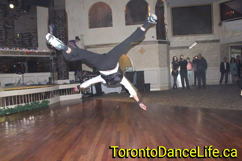Break dance performance Toronto