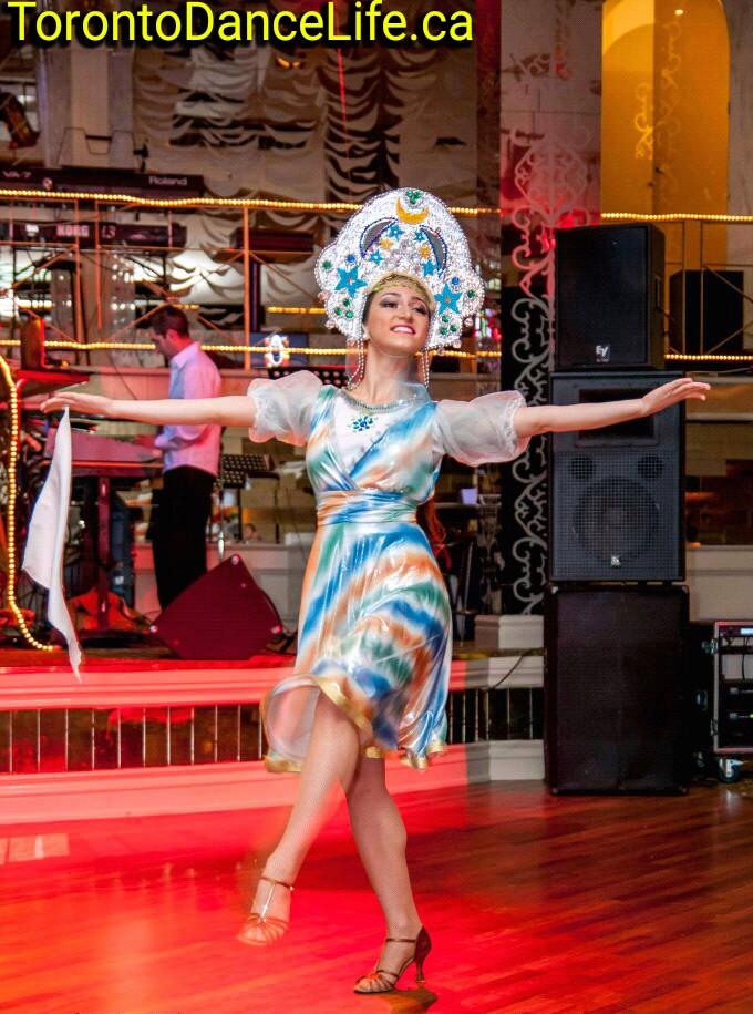Russian dance performance Toronto