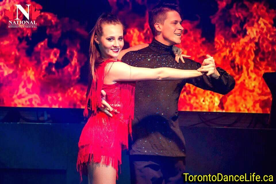 Ballroom dance show Toronto, Christmas party