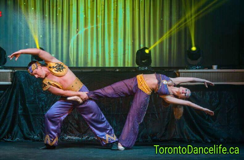 Acro dancers