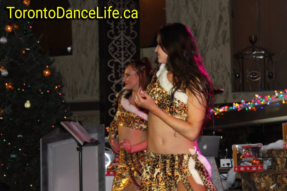 Afro fance. New Year performance Toronto.