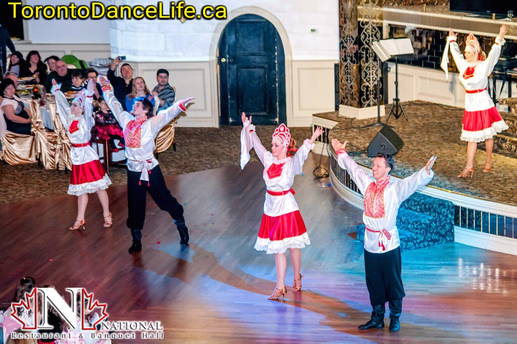 Russian dance performance Toronto