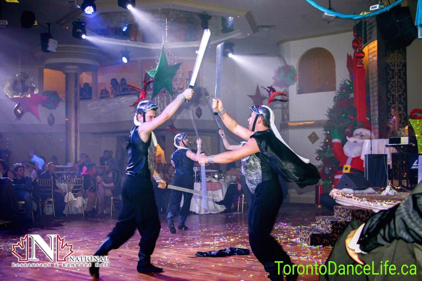 Sword dance Toronto