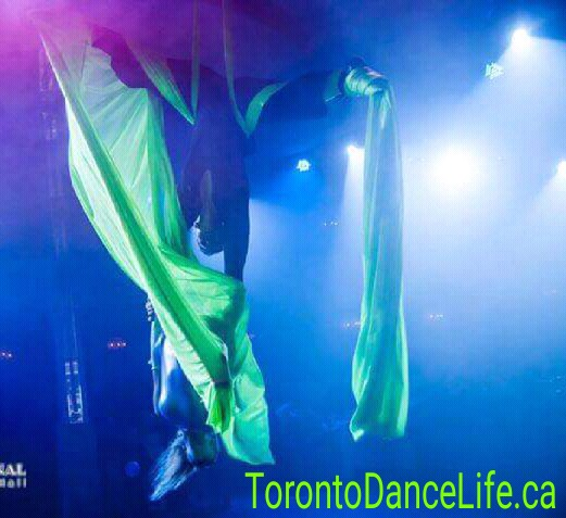 Aerial gymnasts Toronto