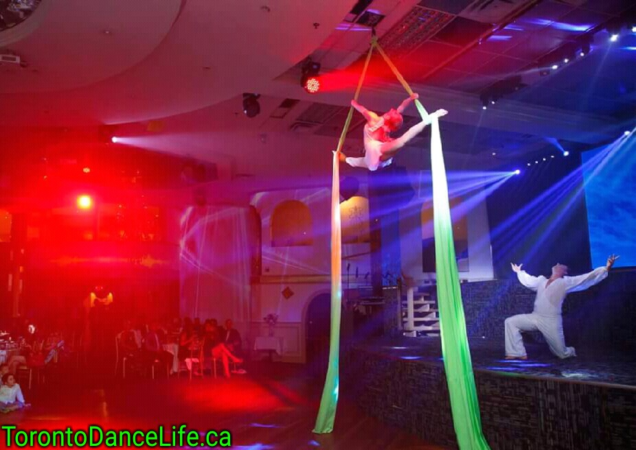 Aerial couple performance