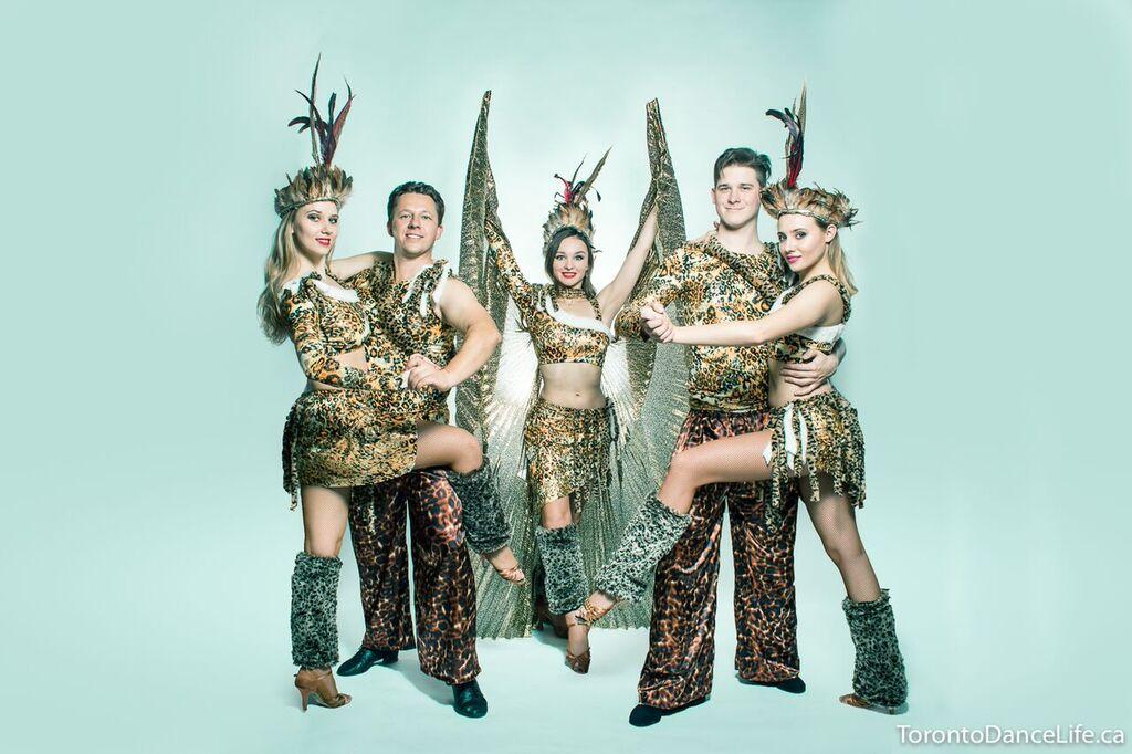Wild dance performance